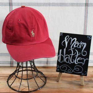 Ralph Lauren Polo Hat with Emroidered Horse